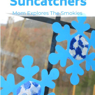 Snowflake Suncatcher Craft