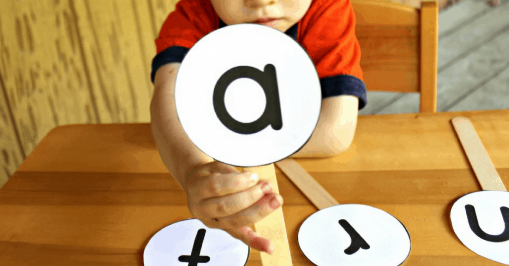 Letter Sounds Listening Game | Mom Explores the Smokies
