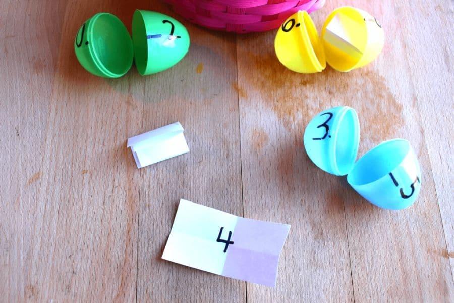 plastic Easter egg game