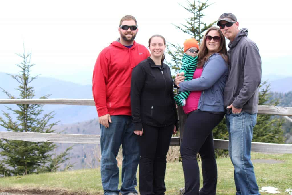 Kid Friendly Smokies, Clingman's Dome, Mom explores The Smokies