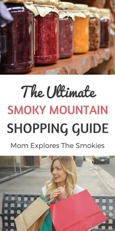 The Ultimate Smoky Mountain Shopping Guide, Mom Explores The Smokies