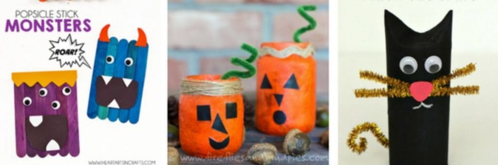 Pumpkin Halloween crafts