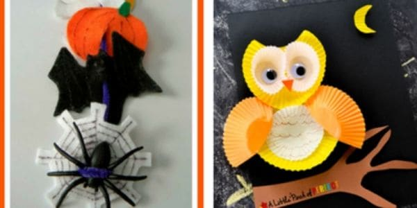 Owl Halloween Crafts for Kids