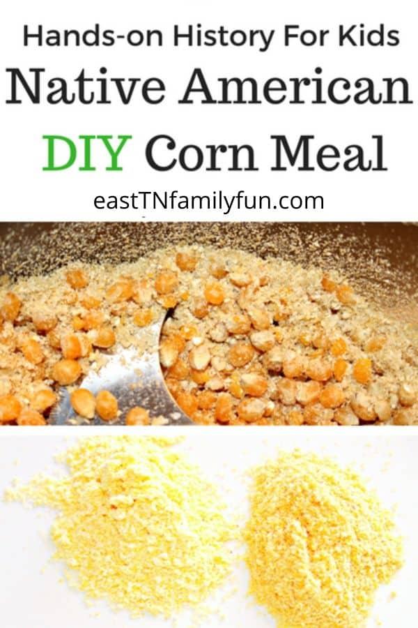 Native American Corn Meal