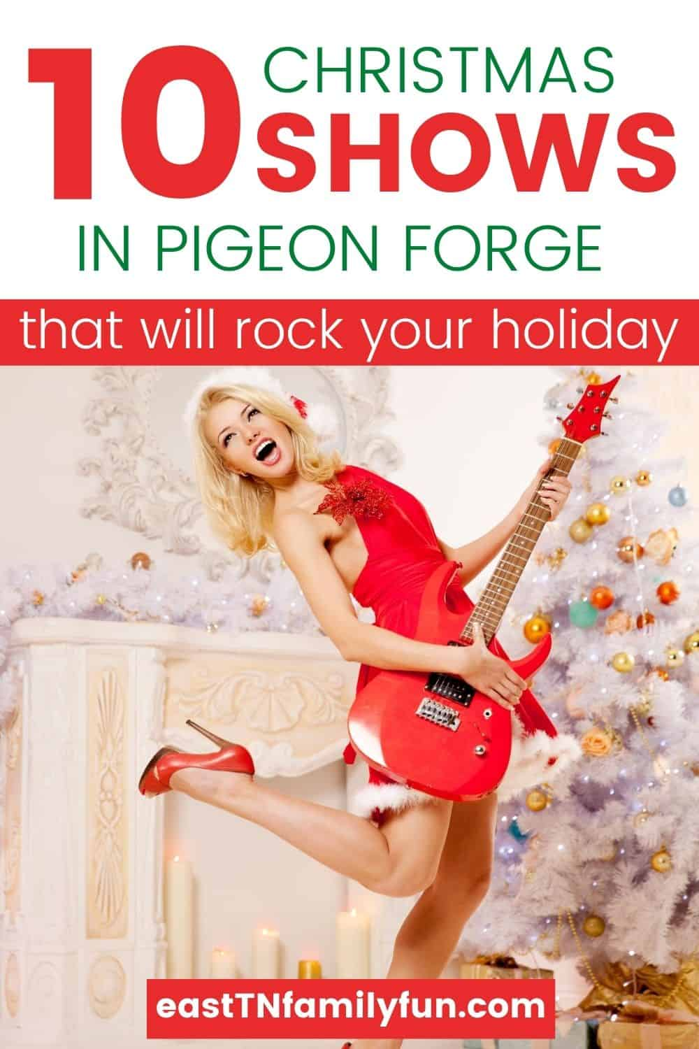 Best Christmas Shows in Pigeon Forge