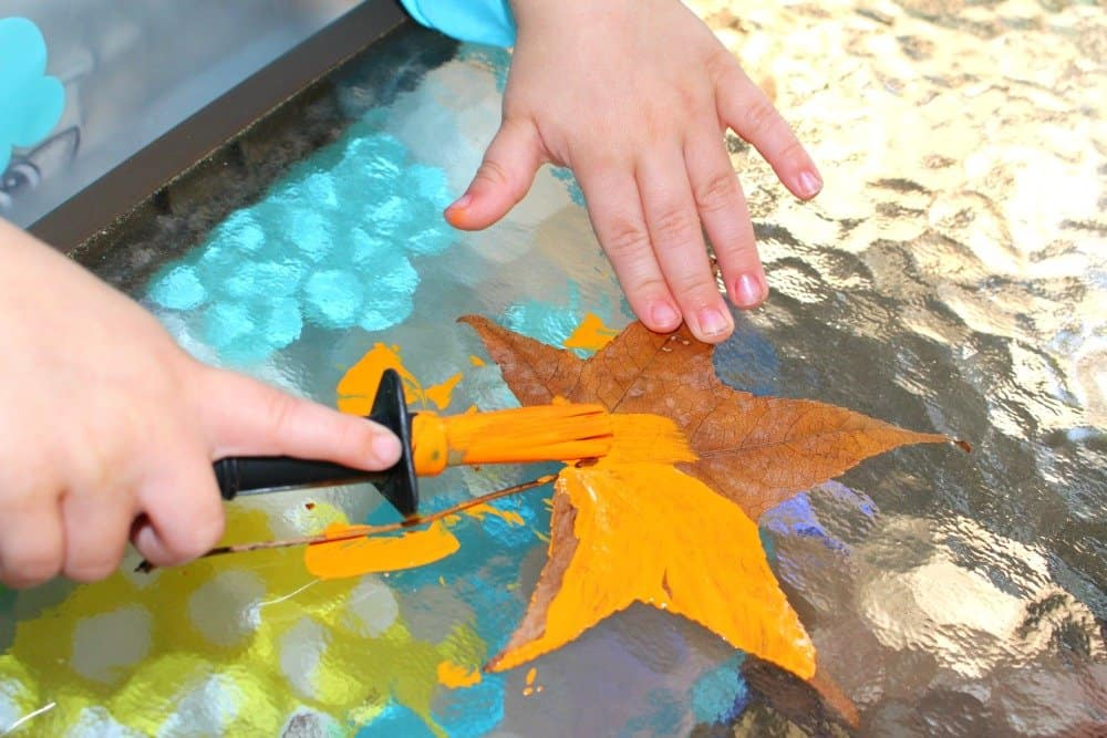 Silly Leaf Monsters, Open-Ended Family Craft, Mom Explores The Smokies