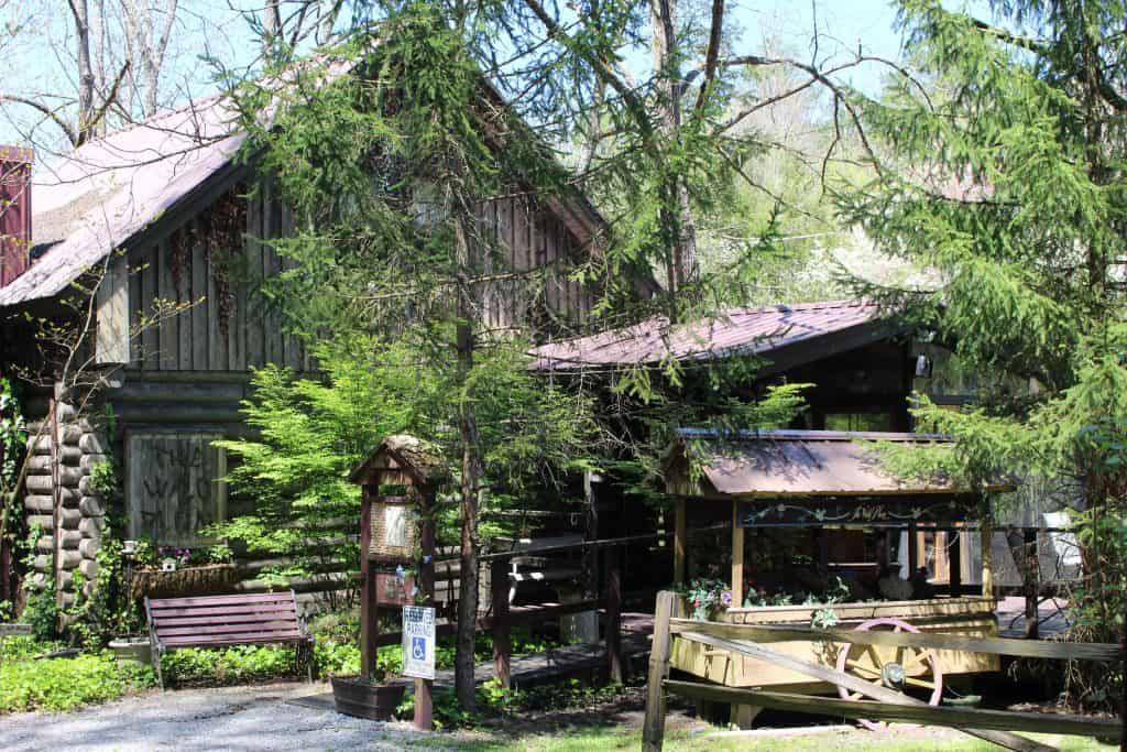 Wild Plum Tea Room in The Gatlinburg Arts and Craft Community
