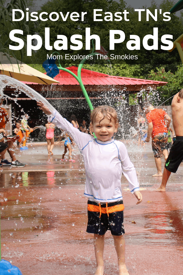 Splash pads in Knoxville and East TN