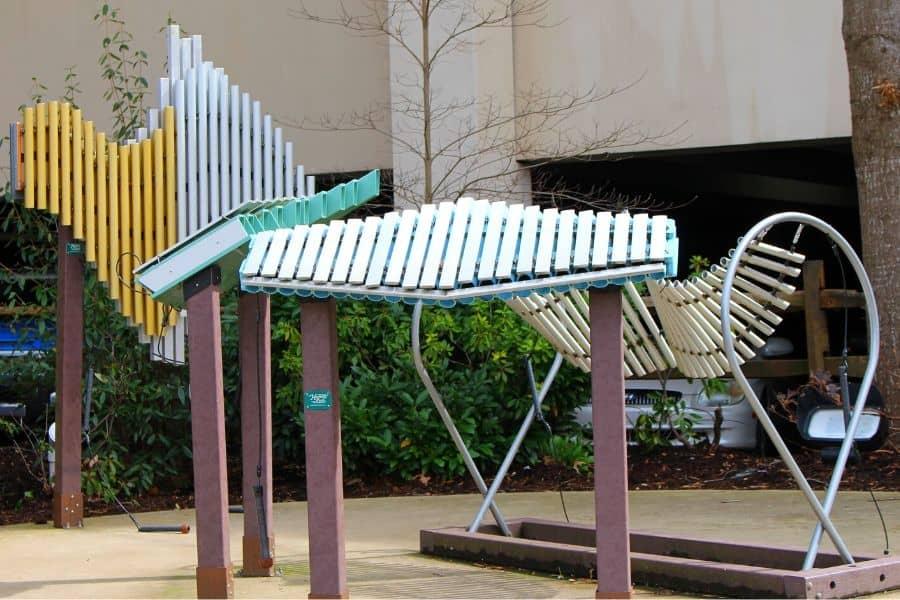 Outdoor Music Instruments in Gatlinburg TN