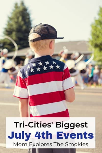4th of July Events near Tri-Cities, TN including Johnson City, Bristol, Kingsport, Jonesborough, and more!