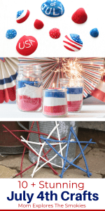 10 + Fantastic July 4th Nature Crafts, Mom Explores The Smokies