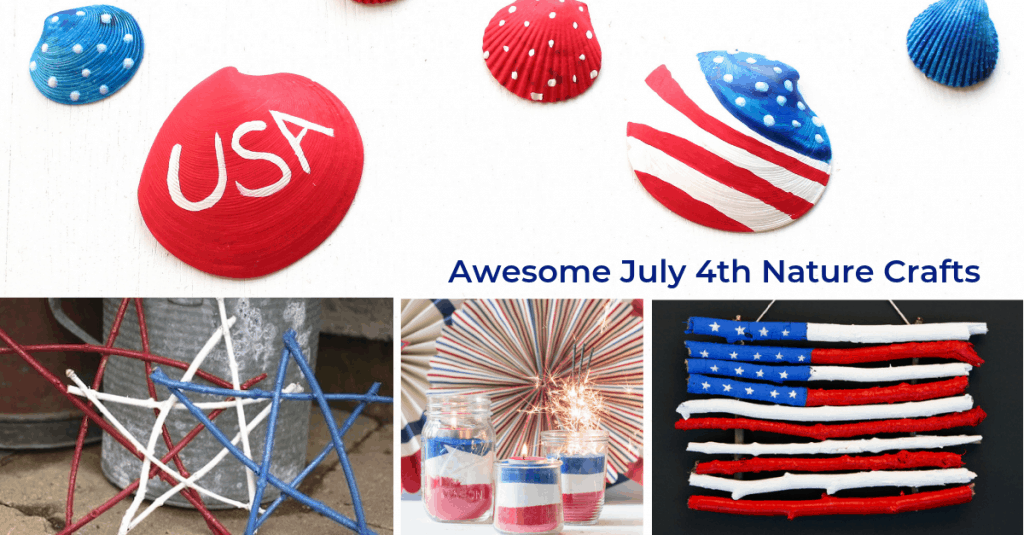 10 + Patriotic Nature Crafts, Mom Explores The Smokies