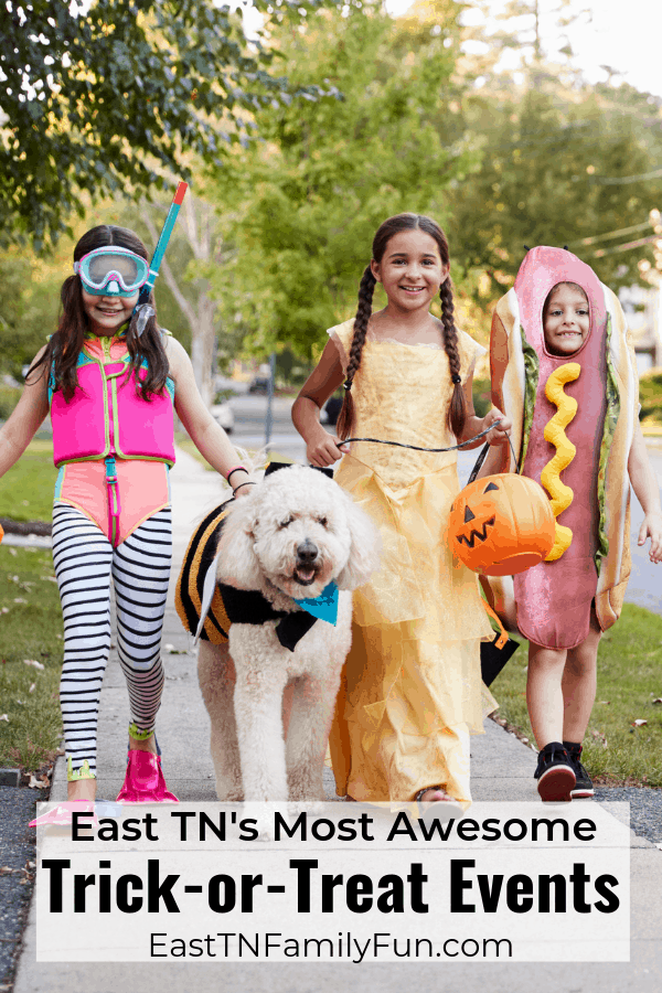 Top Trick or Treat Events in East TN