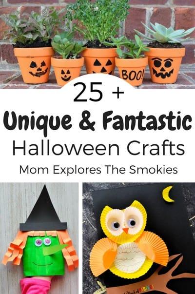 Unique Halloween Crafts for Kids