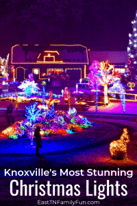 Best Spots to View Christmas Lights in Knoxville TN