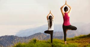 outdoor yoga in East TN