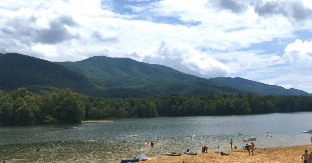 Indian Boundary Swim Beach, Cherokee National Forest, TN