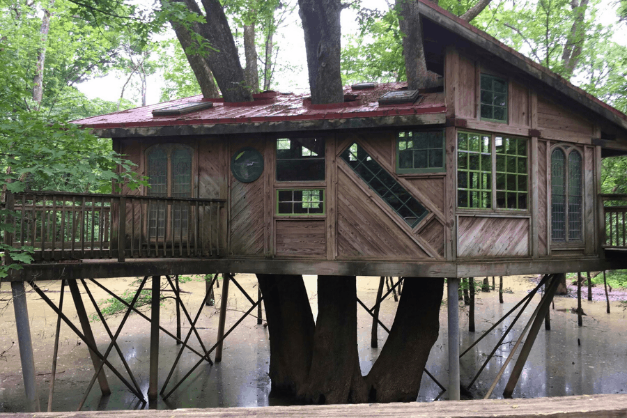 Tree House at Reflection Riding Arboretum