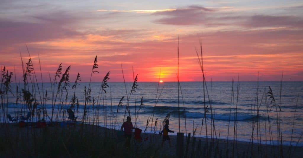 Kure Beach near Wilmington North Carolina is one of 16 Southern US beaches to add to your travel bucket list.