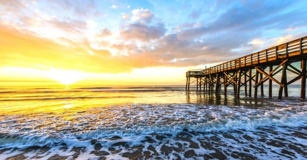 Isle of Palms South Carolina is one of 16 Southern US beaches to add to your travel bucket list.