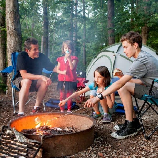 Camping with Kids in Knoxville TN
