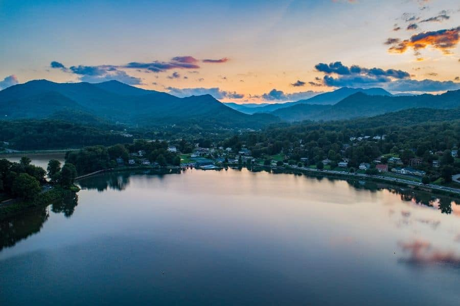 Lake Junaluska Smoky Mountains
