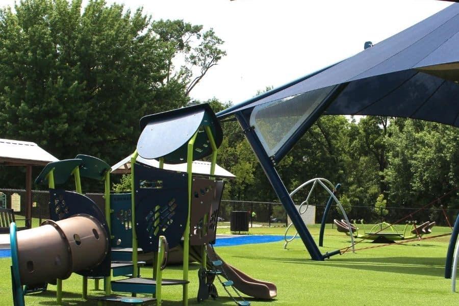 Mt. Ton of Fun Playground in Sevierville TN
