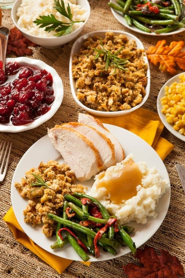 Prepared Thanksgiving Dinners Near Knoxville
