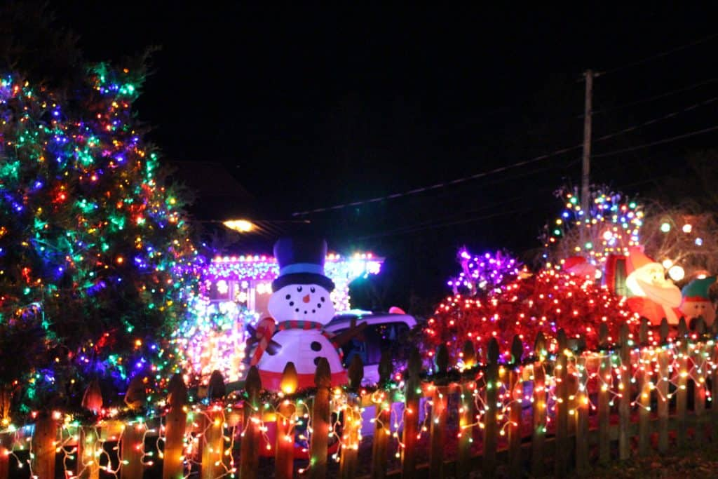 Christmas Lights Best Road, Maryville TN