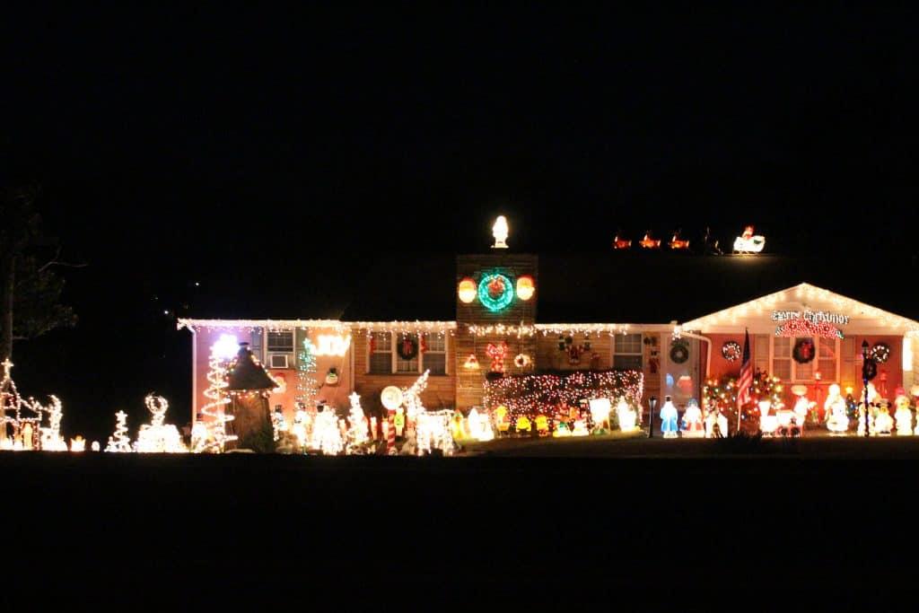 Broadway Christmas Lights, Maryville TN