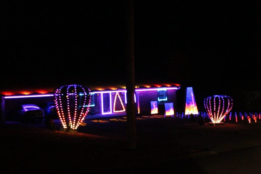 Animated Christmas Lights Greenwich, Maryville, TN