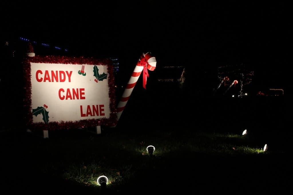 Christmas Lights Remington Park Drive, Maryville TN