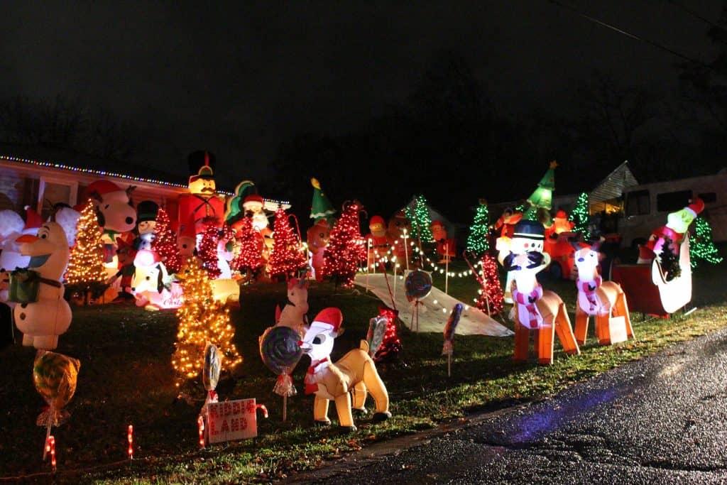 Christmas Lights on Sundance Road, Maryville TN