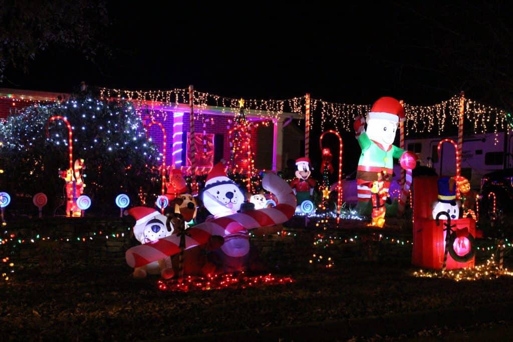 Christmas Lights on Westcliff, Maryville TN