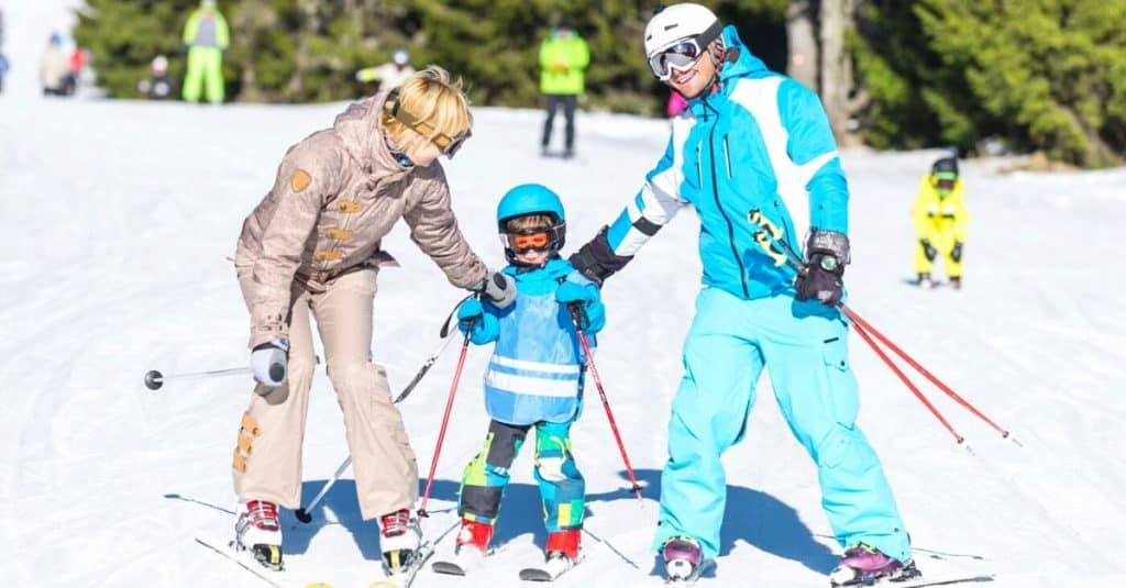 Family Skiing at Closest Ski Resort to Chattanooga