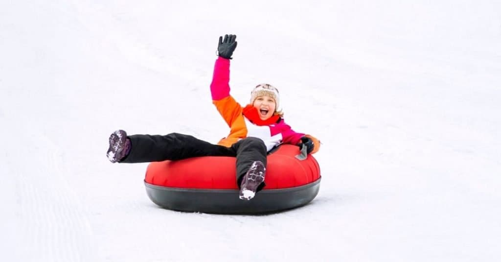 Knoxville Snow Tubing