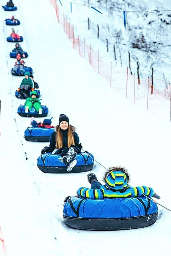 Snow Tubing Near Johnson City TN