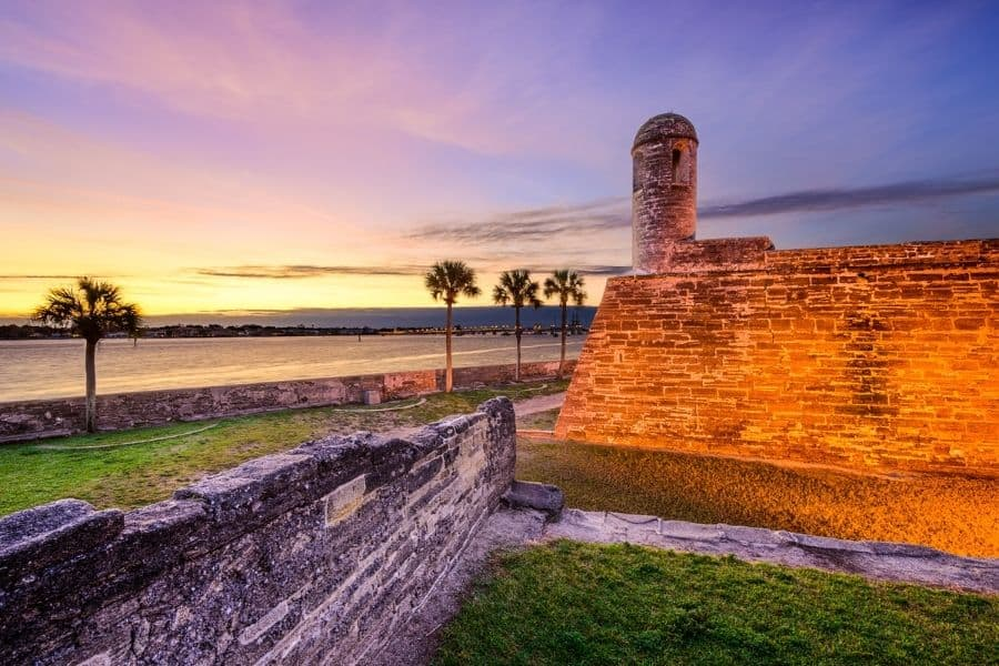 St. Augustine Florida, one of the best beaches near Chattanooga
