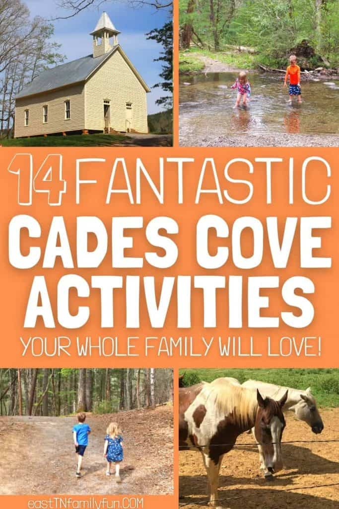 Horseback Riding, Historic Church, Kids Hiking and Swimming in Cades Cove