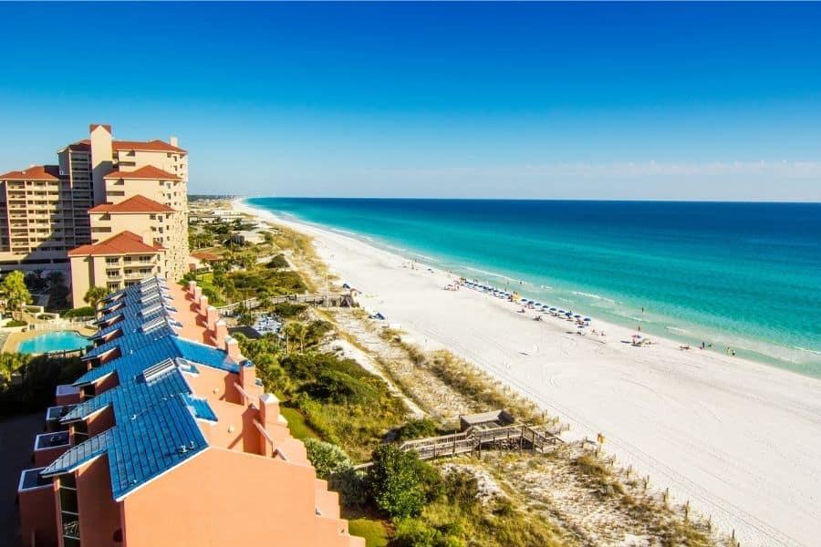 Panama City Beach Fl, Blue Gulf Beaches Near Johnson City TN