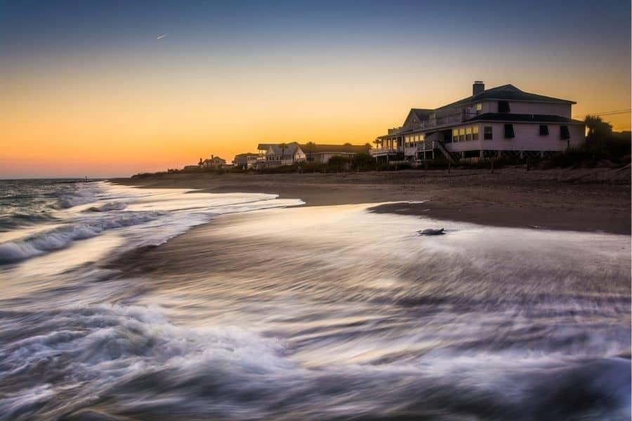 Twilight on Edisto Beach SC